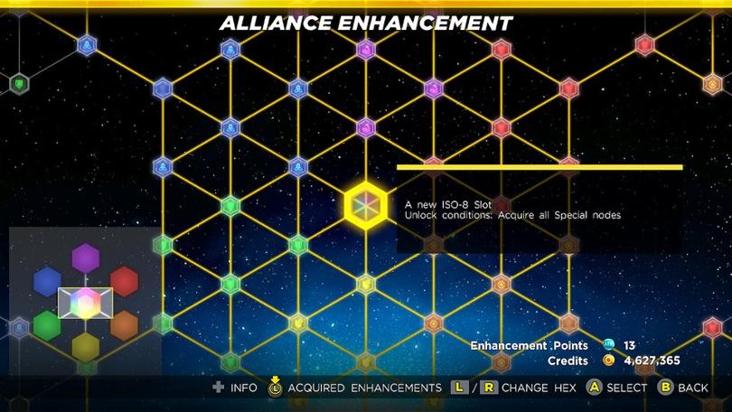 Alliansen i Marvel Ultimate Alliance 3 kan förstärkas via det här talangträdet.