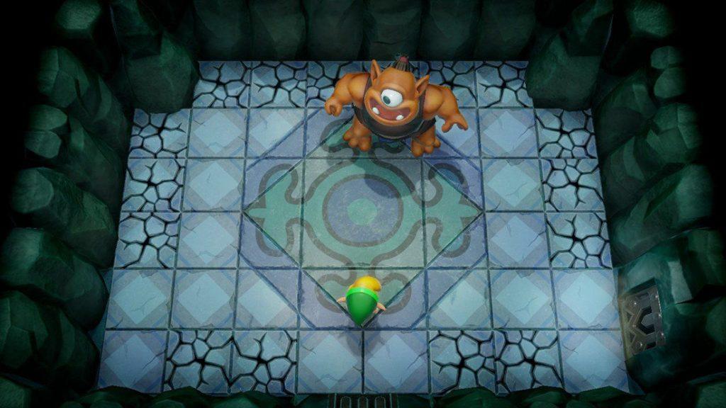 En ful boss i Link's Awakening.