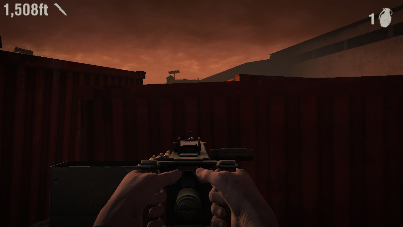 Ett för Into the Dead 2 ofördelaktigt screenshot.