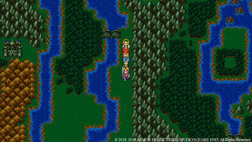 Dragon Quest XI 2D mode.