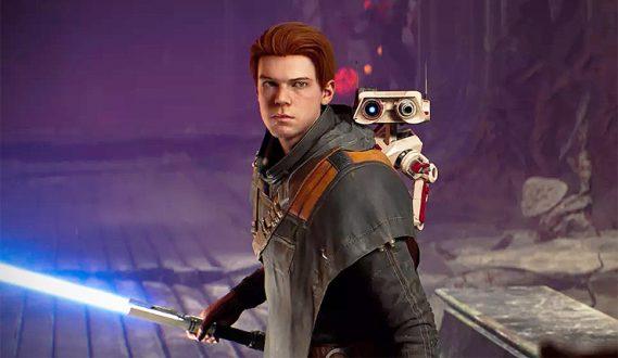 Jedi: Fallen Order:  Cal med kompanjonen BD-1.