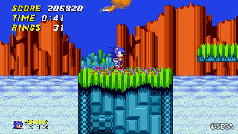 Sonic the Hedgehog 2 AGES: Hur man inte ska ha skärminställningarna.