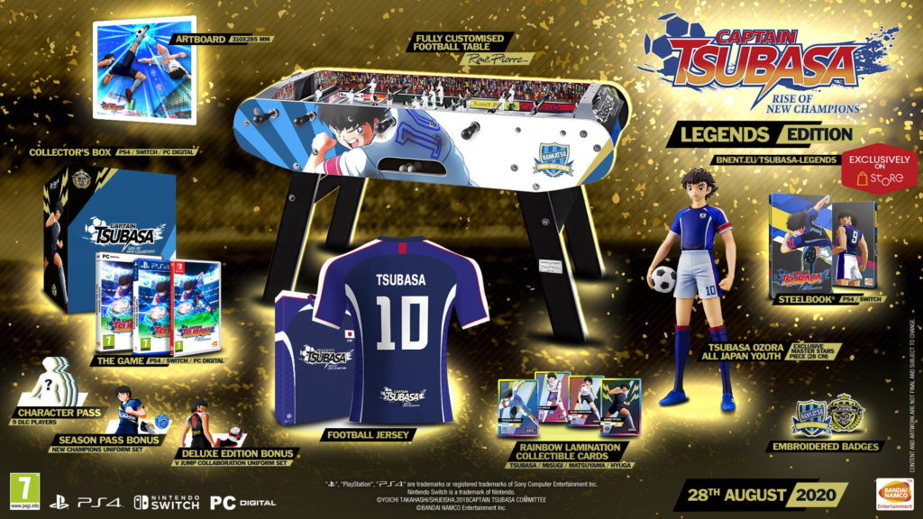 Table football game from Rene Pierre for Captain Tsubasa: Rise of New Champions.