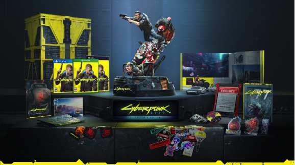Cyberpunk 2077 Collector's Edition.