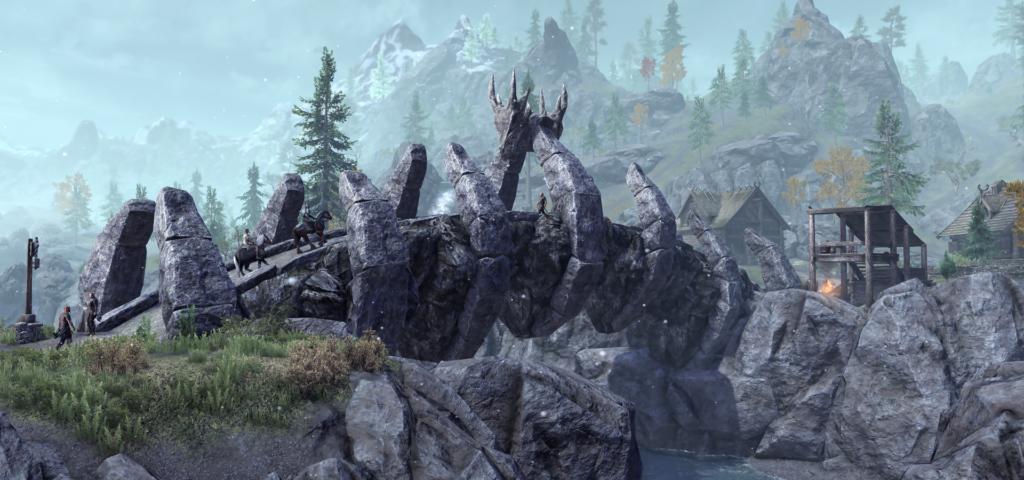 Dragon Bridge i The Elder Scrolls Online: Greymoor.