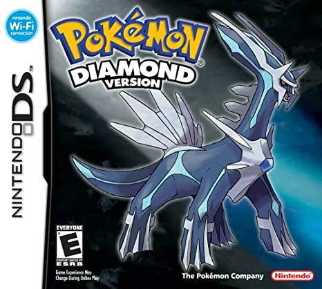 The cover of Pokémon Diamond.