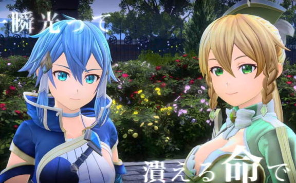 Sinon och Leafa i Alicization Lycoris.