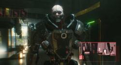 Adam Smasher, en cyborg i Cyberpunk 2077.