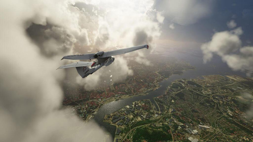 Icon i Microsoft Flight Simulator