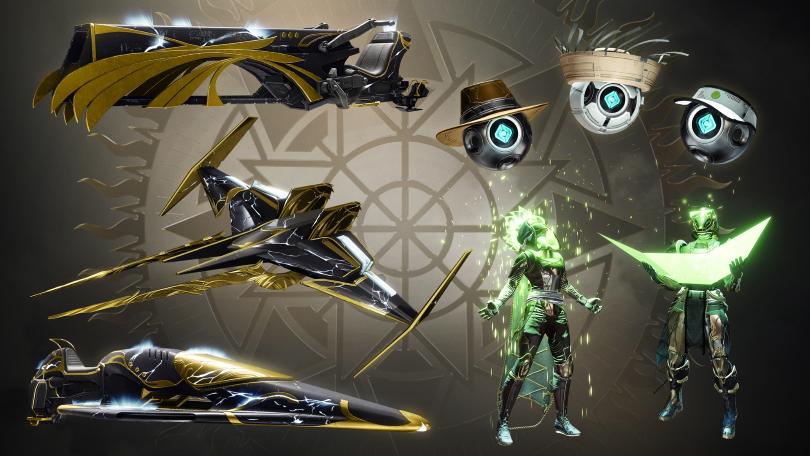 Solstice of Heroes range in Eververse.