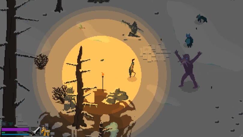 Monster i Elden: Path of the Forgotten.