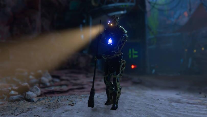 Roboten Roy i Marvel's Avengers.