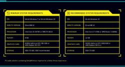 Systemkraven för Cyberpunk 2077.