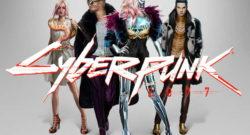Cyberpunk 2077 neokitchklädstil.