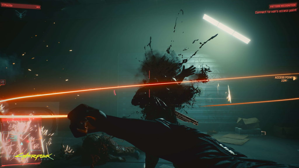 Nanowire is a whip-like weapon in Cyberpunk 2077 that you hide in your wrist.
