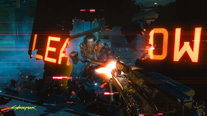 Sasquatch is the leader of The Animals and is a terribly strong woman in Cyberpunk 2077.