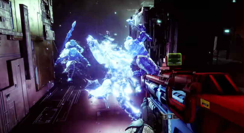 Stasis granater - Coldsnap Grenade i Destiny 2: Beyond Light.