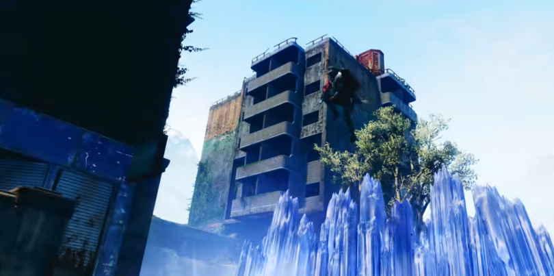 Stasis granater - Glacier Grenade i Destiny 2: Beyond Light.
