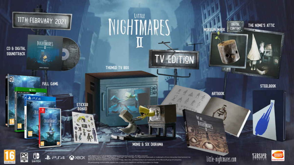 TV Edition of Little Nightmares II.