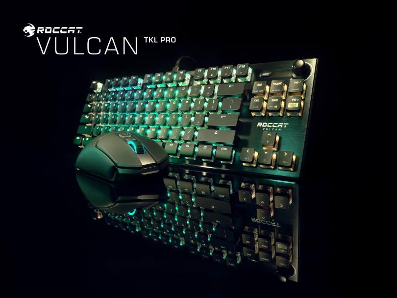 Roccat Vulcan TKL Pro.