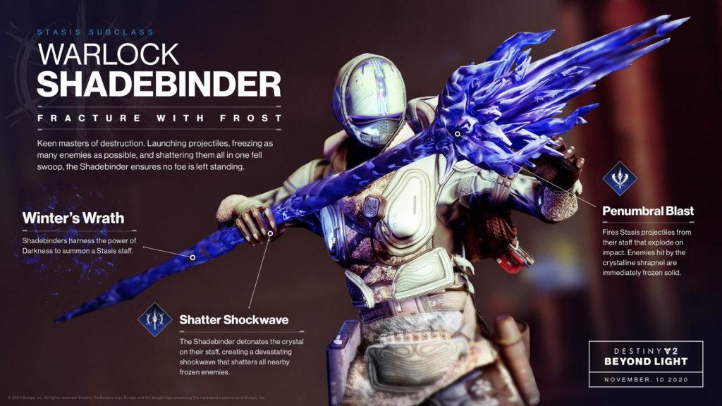 Shadebinder Warlock.