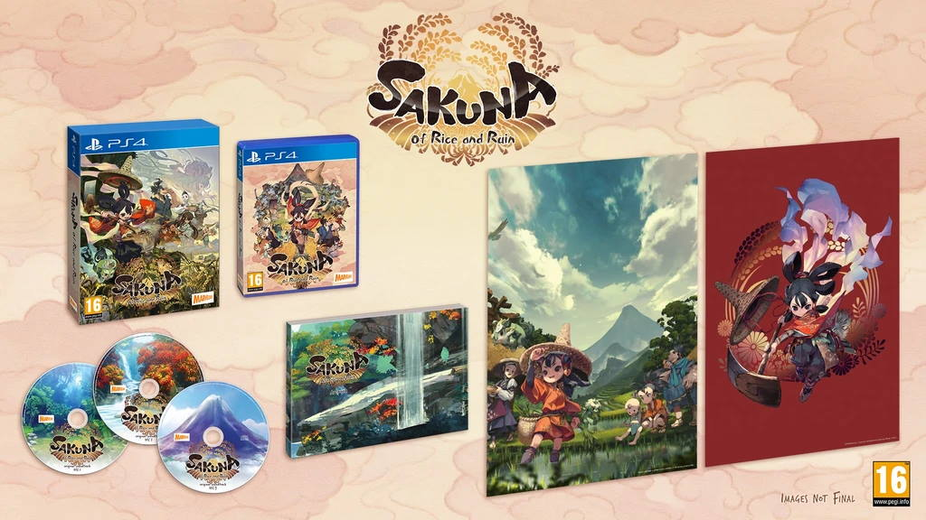 Sakuna: Of Rice and Ruin Golden Harvest Edition.