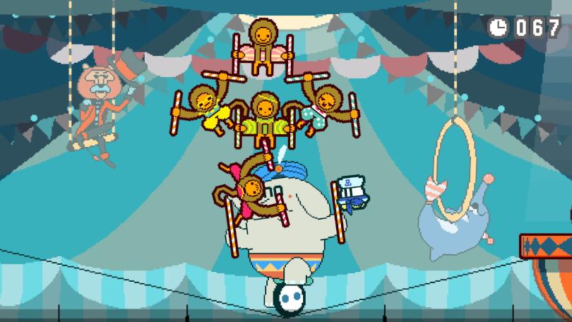 Part Time UFO: Fem apor balanserar på samma pinne!