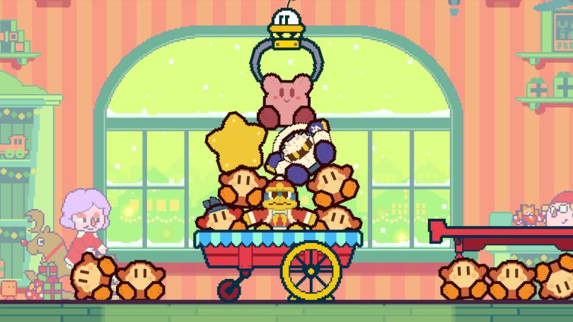 Part Time UFO gör kopplingarna till Kirby uppenbara.