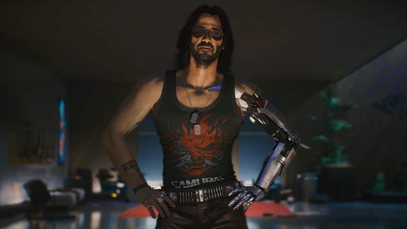 Johnny Silverhand, Cyberpunk 2077.