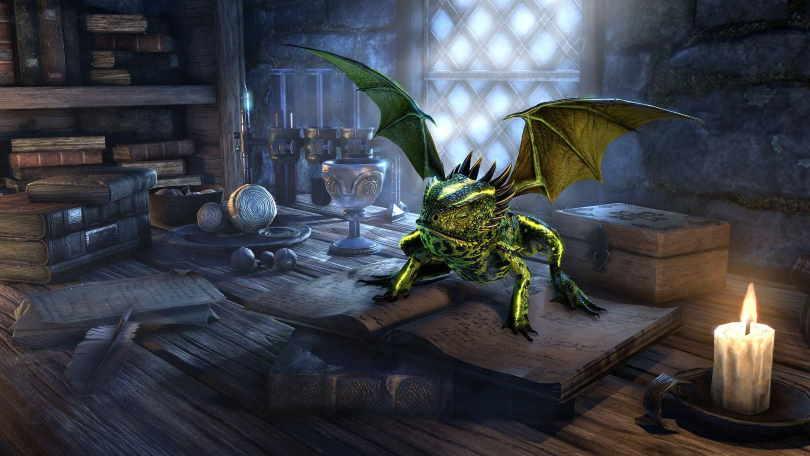 Viridescent Dragon Frog.