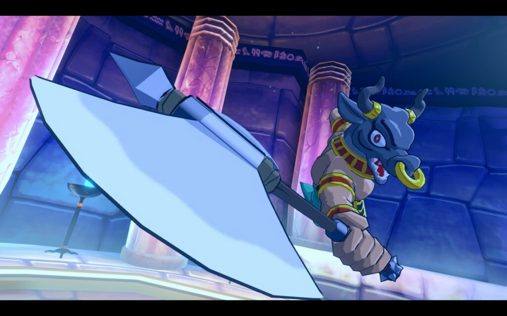 Wonderboy: Asha in Monsterworld: Spelboss!