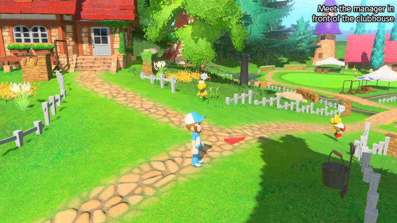 Mario Golf super Rush recension: mysig hubbvärld.