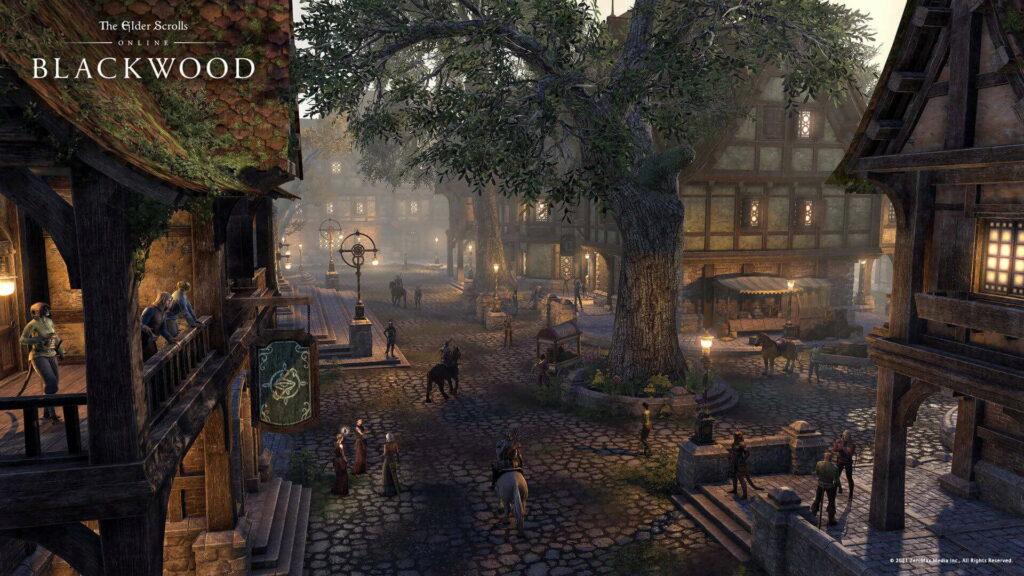 The Elder Scrolls Online: Blackwood, Bethesda 2021.