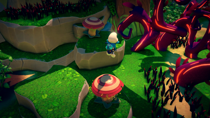 The Smurfs Mission Vileaf plattformande