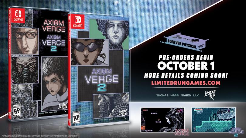 Nintendo Indie World Showcase August 2021: LRG announces physical release of Axiom Verge 2.