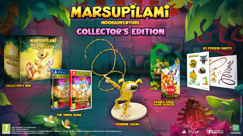 Marsupilami: Hoobadventure: Collector's Edition.