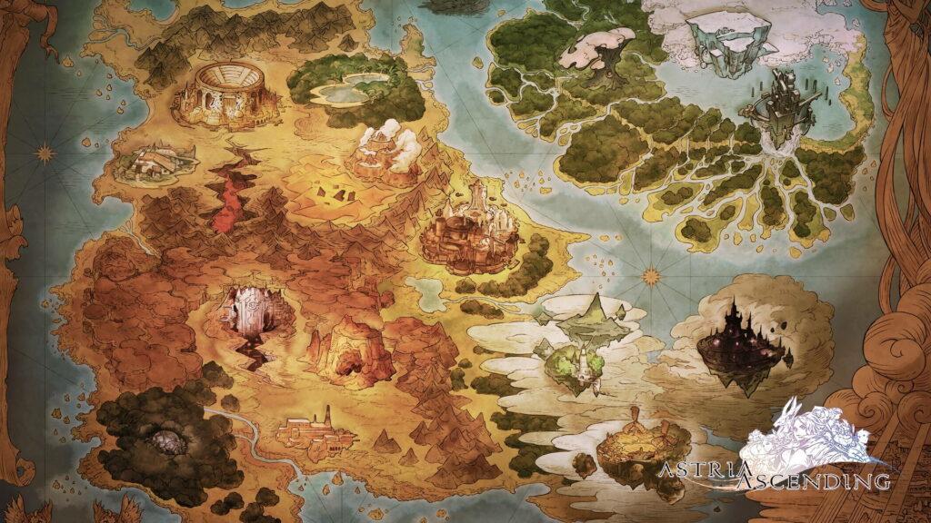 Astria Ascending map.